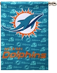 Miami Dolphins House Flag